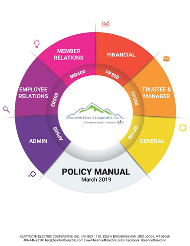 Policy Manual March 2019